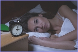 Insomnia: Awakening and not able to get to bed?